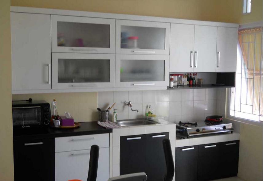 Desain Meja Kompor Tanam Desain Minimalist Kitchen Kitchen Sets