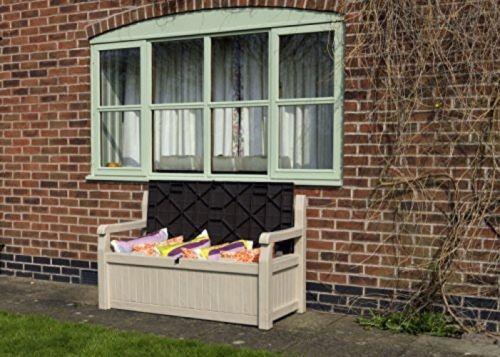 Keter storage bench box  garden eden  outdoor new free ship  View more. Keter storage bench box  garden eden  outdoor new free ship  View