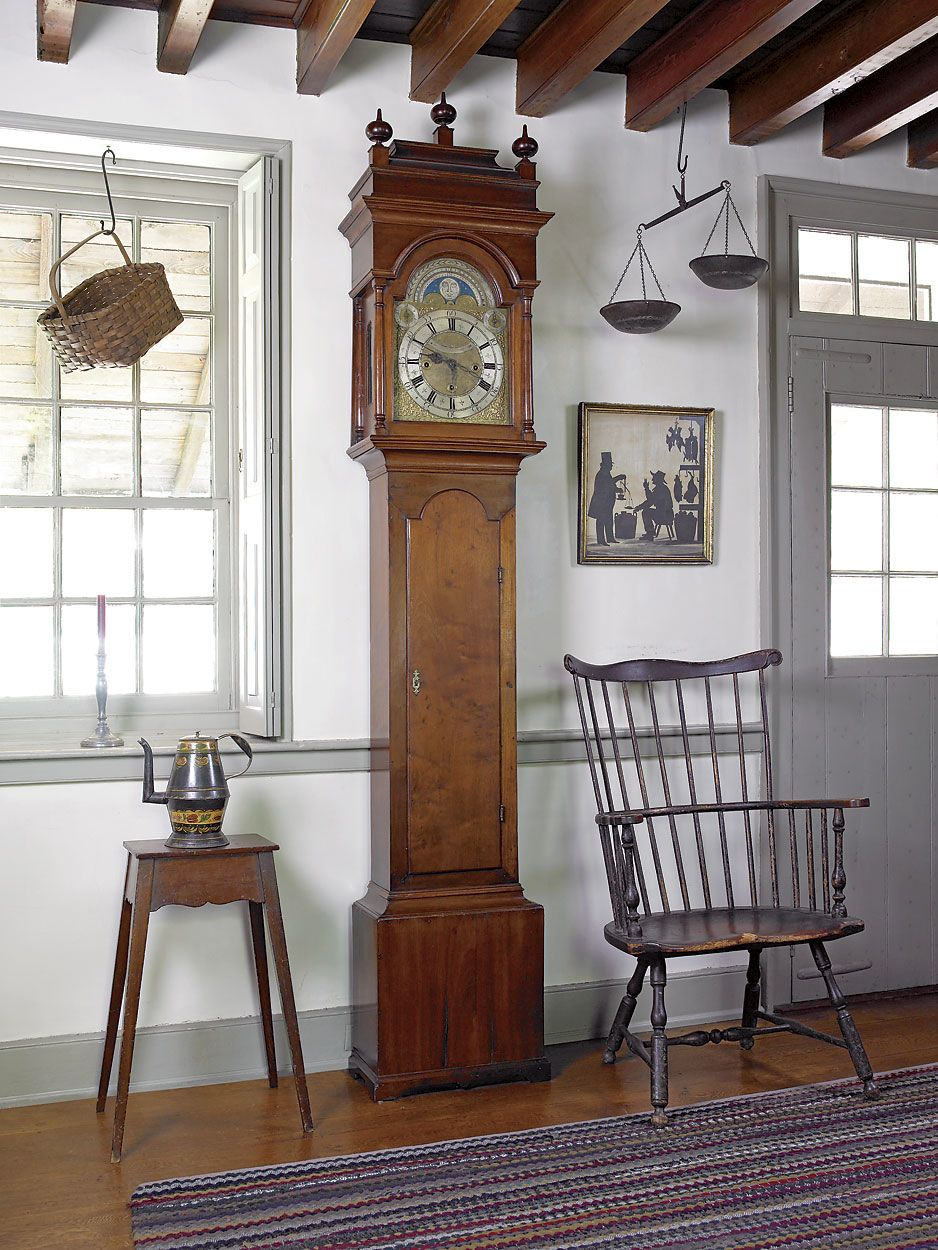 Colonial Decorating Farmhouse Interior Early American Decor Inside This Vintage