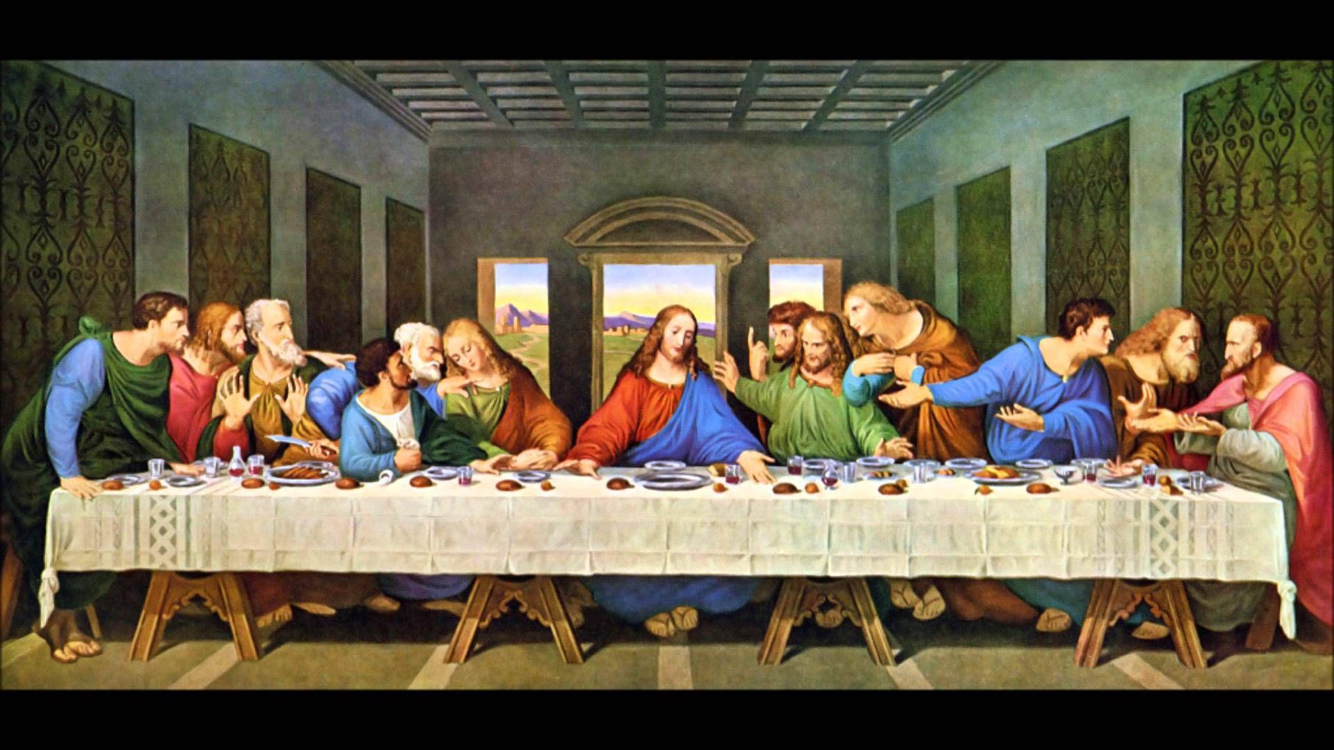 15th Century Painting The Last Supper 1920x1080 Via Classy Bro