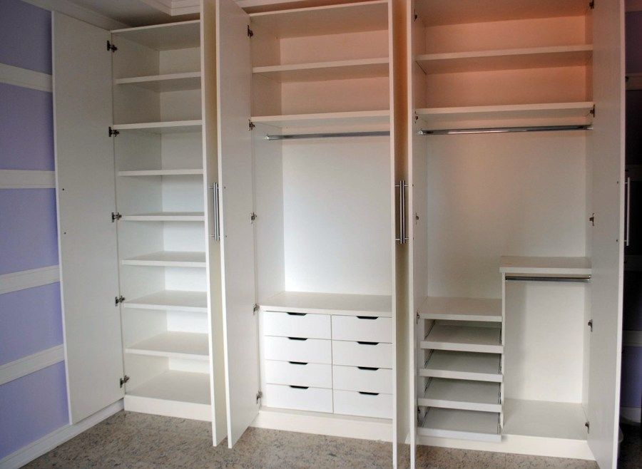 Armario Archivador Persiana ~ quartos pequenos de casal divis u00e3o dos armarios Pesquisa Google Decoraç u00e3o Apartamentos