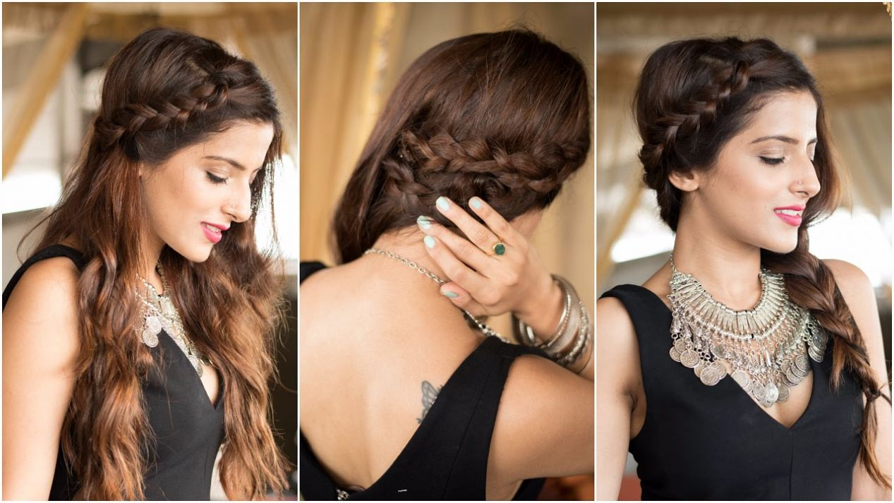 10 Easy Rules Of Simple Hairstyle For Party  simple  Braided