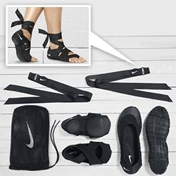 """Nike Studio Wrap 3 in 1 """"shoes"""" are an interesting concept with fun packaging and nice design story."""