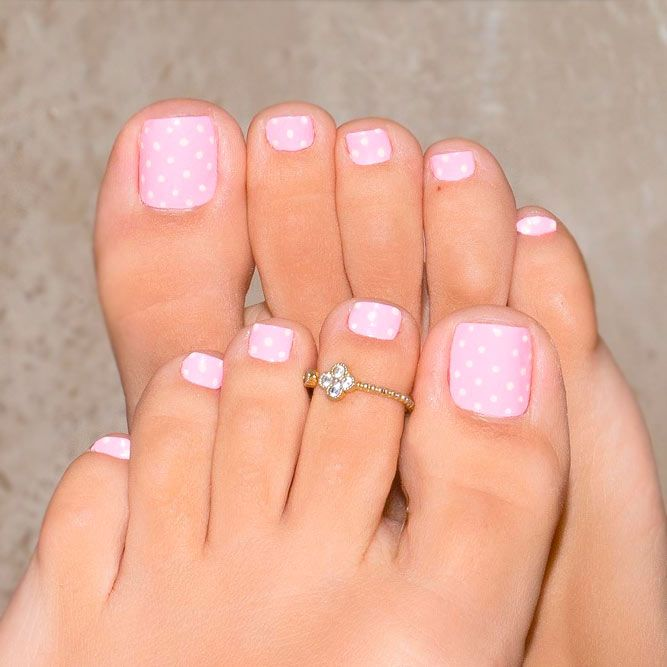 Over 50 Fun Toe Nail Designs To Go Crazy Over Naildesignsjournal Com Simple Toe Nails Summer Toe Nails Easy Toe Nail Designs