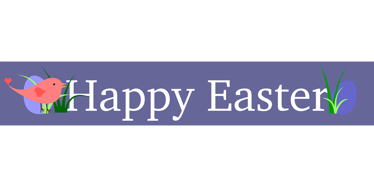 Pin By World Vacations On Activity Calendar Clip Art Happy Easter Banner Easter Banner Happy Easter Pictures