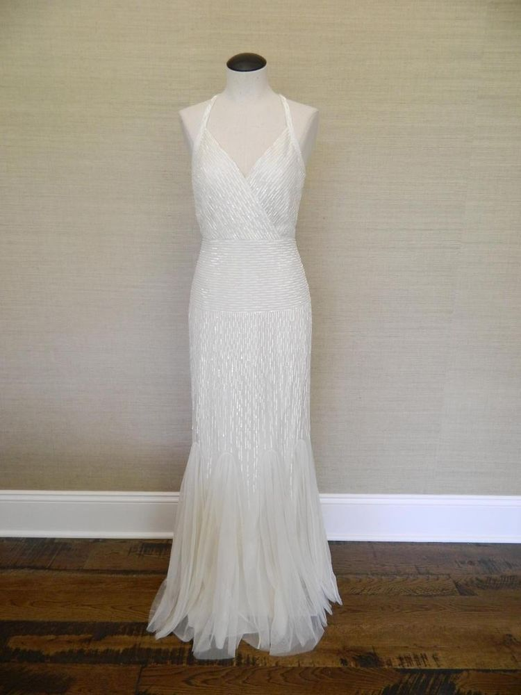 adea1a192139 JCrew $1100 Harper beaded mermaid tulle gown 0 b6655 vintage 20's flapper  #JCrew #BallGown #Formal
