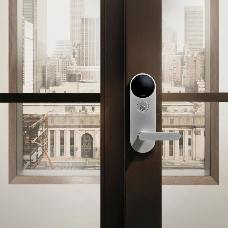 1 In 10 New U S Apartments Are Built With Latch Smart Access Systems Nyc Locksmith Paragon Security Locksmith Latches Paragon Unlock