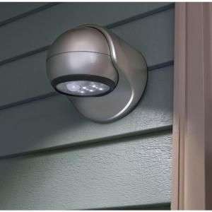 Bronze Led Wireless Motion Activated Weatherproof Porch Light 20031 107 At The Home Depot