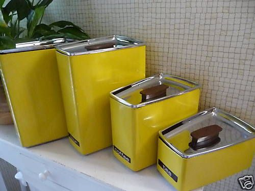 Lincoln Beautyware Canister Set.
