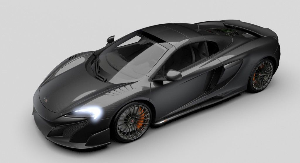 McLaren MSO Carbon Series LT