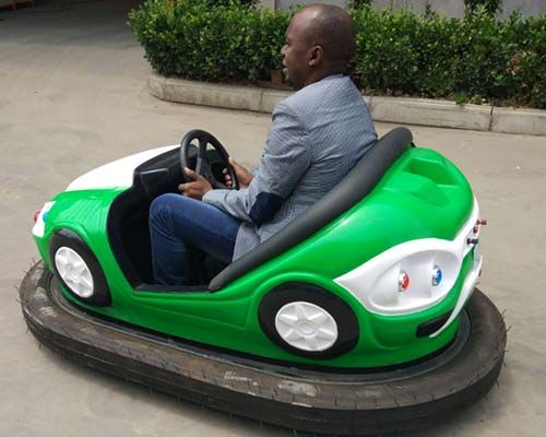 electric operated bumper car rides car working principle | Electric ...