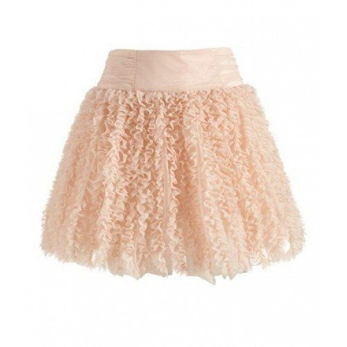"""I don't know what type of skirt is that.  uhhh """"kinda laced skirt"""""""