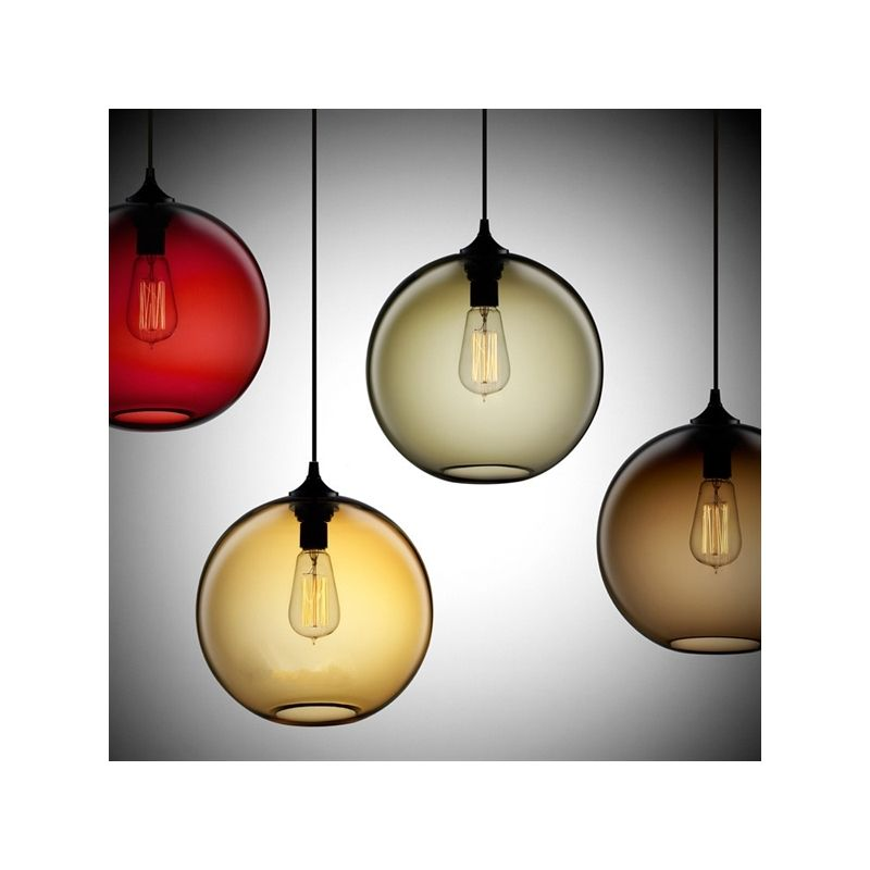 Ceiling lights modern minimalist glass pendant light globe with 1 ceiling lights modern minimalist glass pendant light globe with 1 light dining room living room bedroom lightingcolor of love mozeypictures Image collections