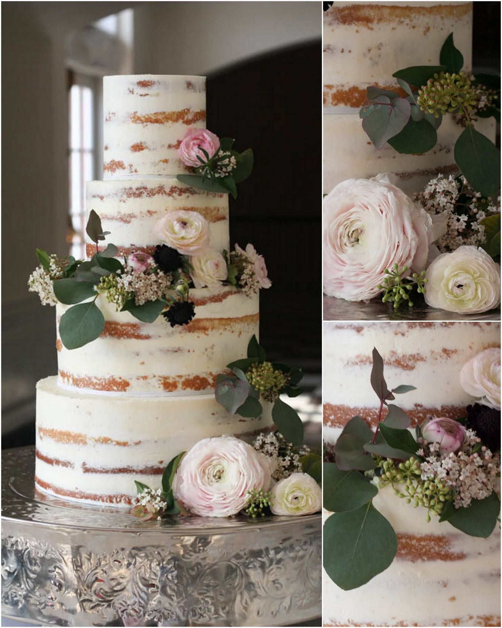 Cake pictured by Erica O'Brien   10 Steps To Building A Better Naked Cake   Erin Gardner   Craftsy