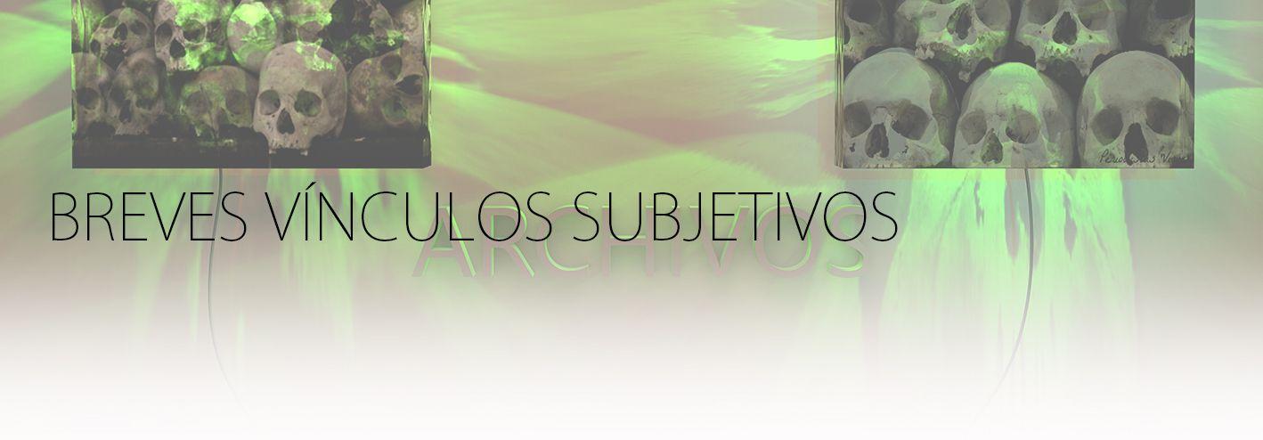 BREVES VINCULOS SUBJETIVOS. YENY CASANUEVA Y ALEJANDRO GONZALEZ. PROYECTO PROCESUAL ART