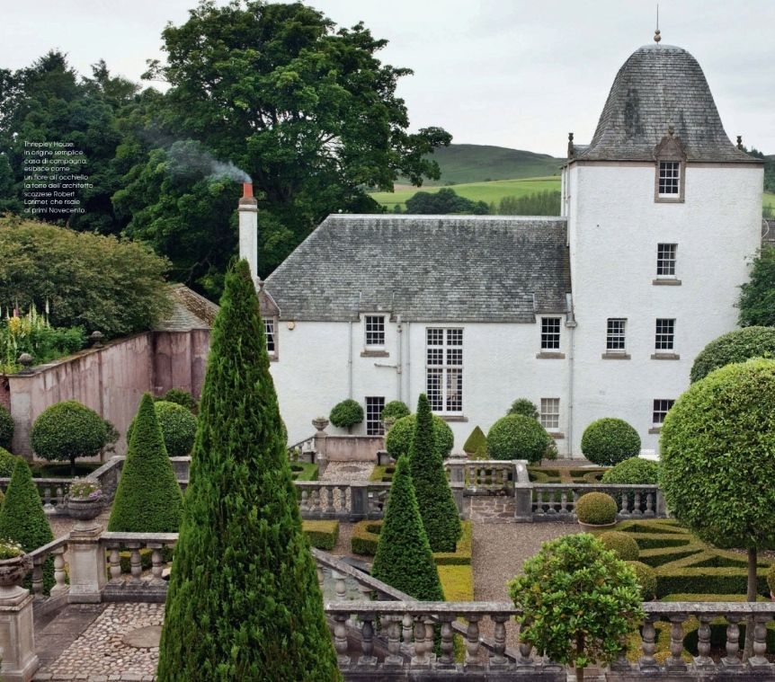 Scottish Manor Houses: The Gardens Of Thriepley House, Kinpurnie Estate, Angus
