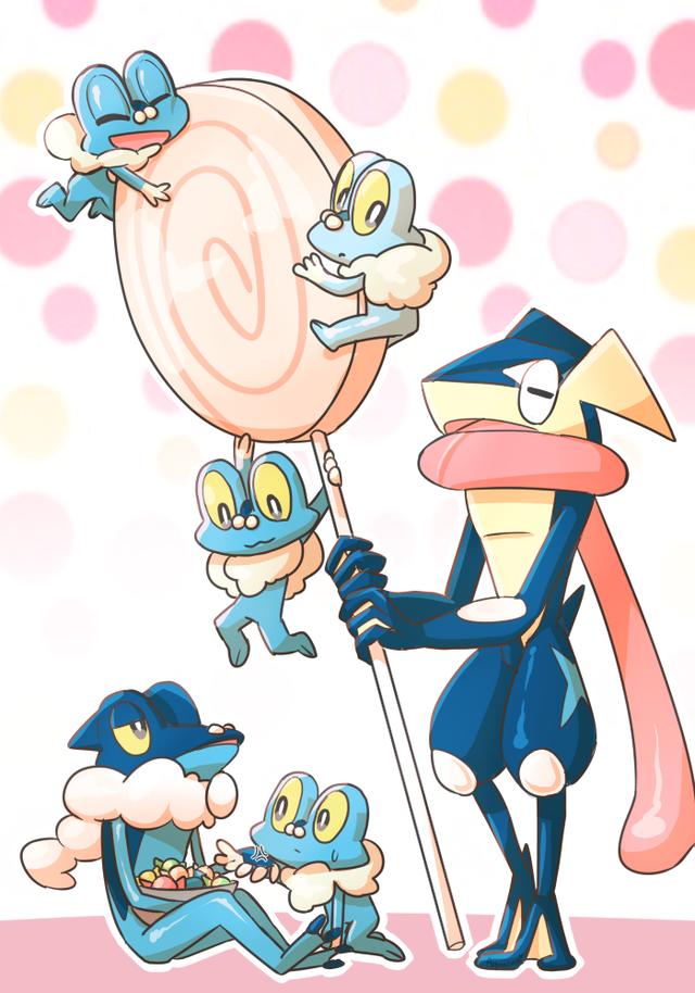 froakie frogadier and greninja pokemon pokémon pokemon pictures