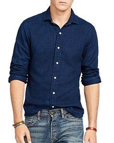 c78d1c3c Polo Ralph Lauren Twill Estate Slim Fit Button Down Shirt | Austin ...