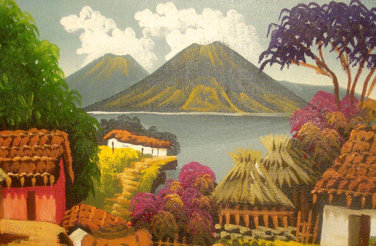 Pinturas de mi guatemala buscar con google paisajes - Pintores en asturias ...