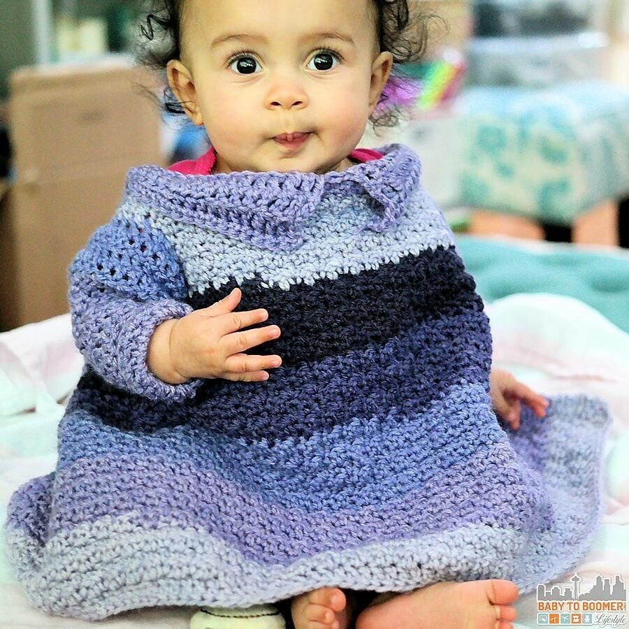 Free crochet patterns featuring caron cakes yarn free crochet pattern for baby toddler car seat sweater blanket made with caron cakes brambleberry bankloansurffo Gallery
