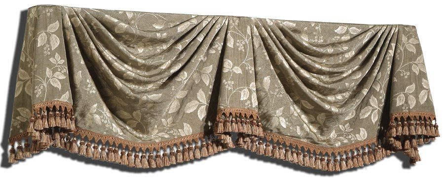 Kingston Window Valance This More Formal Looks Good On It S Own Or Over Panels