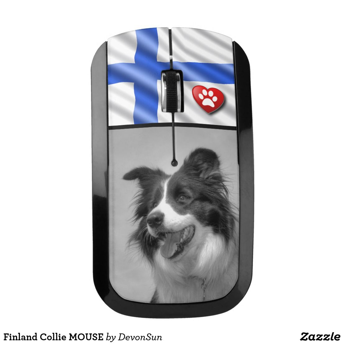Finland Collie Mouse Zazzle Co Uk Collie Dog Lovers Finland