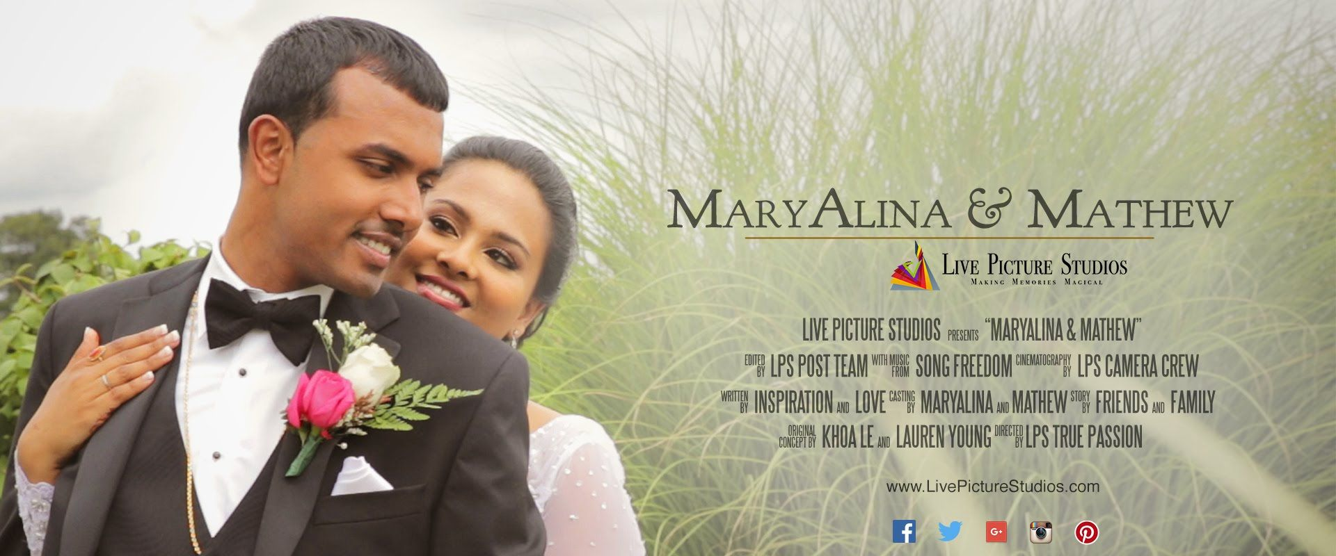 Maryalina And Mathew Wedding Highlight By Live Picture Studios Wedding Highlights Wedding Video Inspiration Live Picture