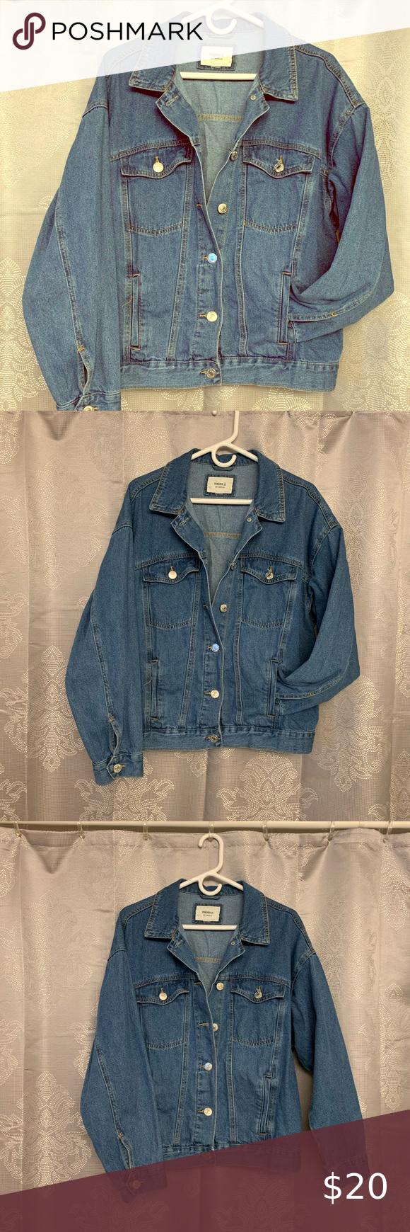 Forever 21 Basic Denim Jacket Denim Jacket Jackets Clothes Design [ 1740 x 580 Pixel ]