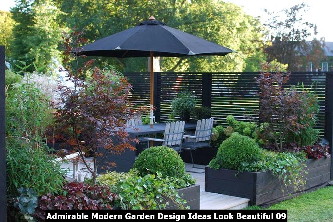 Admirable Modern Garden Design Ideas Look Beautiful Pimphomee Modern Garden Design Garden Design Layout Garden Design