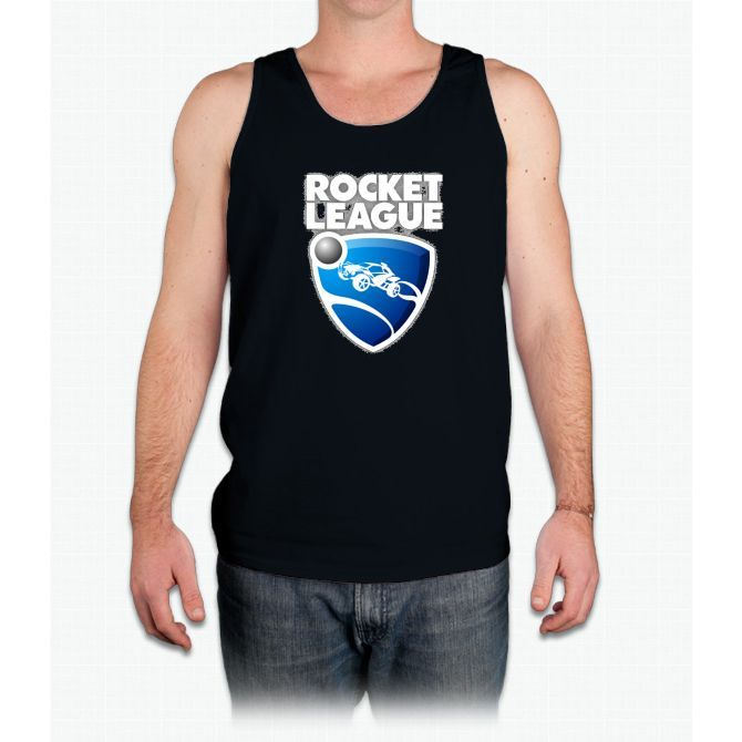 Rocket league (fan-art) Logo - Mens Tank Top