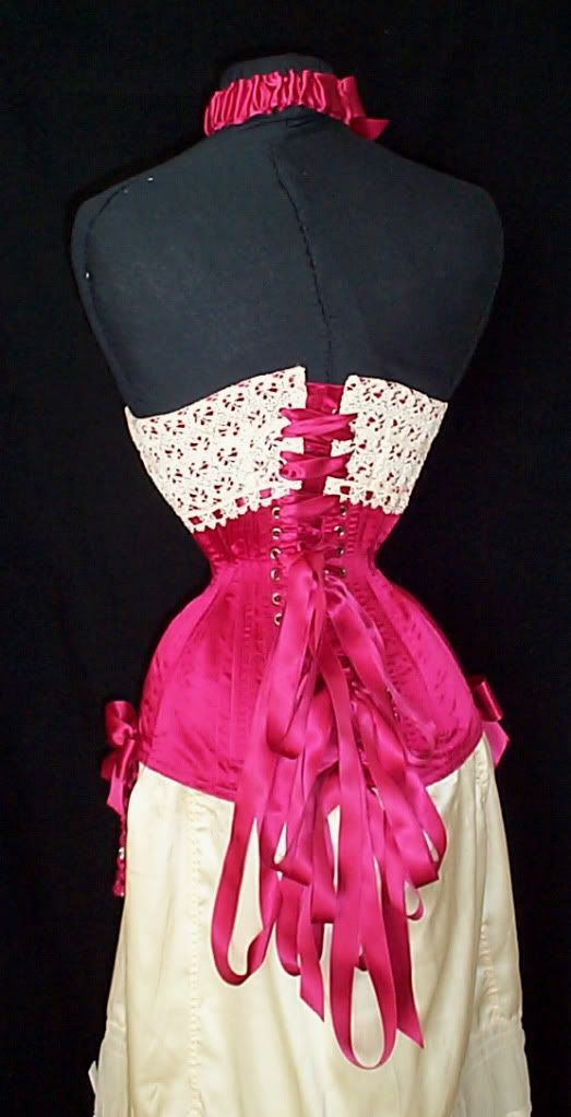 Repro corset for Dita by Laceembrace.com