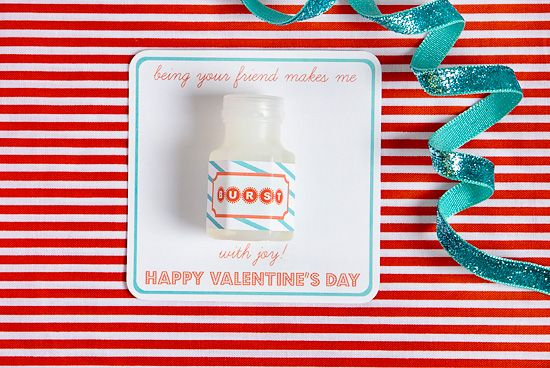 bubble valentine's cards