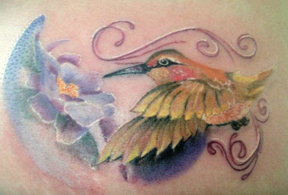 My husband calls me his hummingbird sometimes, possible next tat