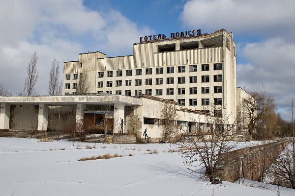 Ukraine - Chernobyl  Entire city abandoned
