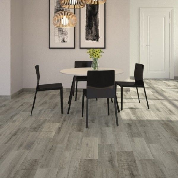 Kivu Wood Look Tiles   Grey