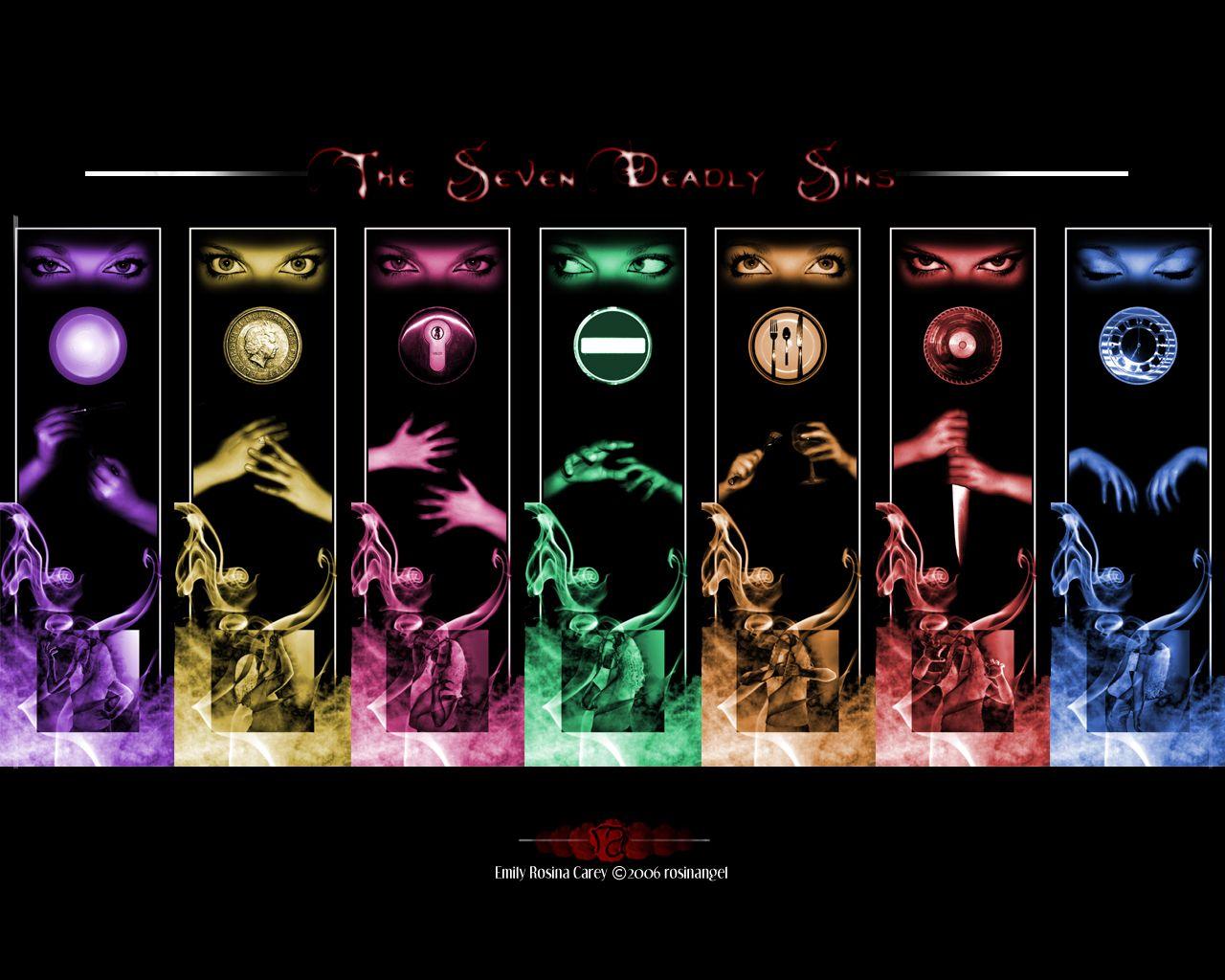 The seven deadly sins by rosinangel seven deadly sins