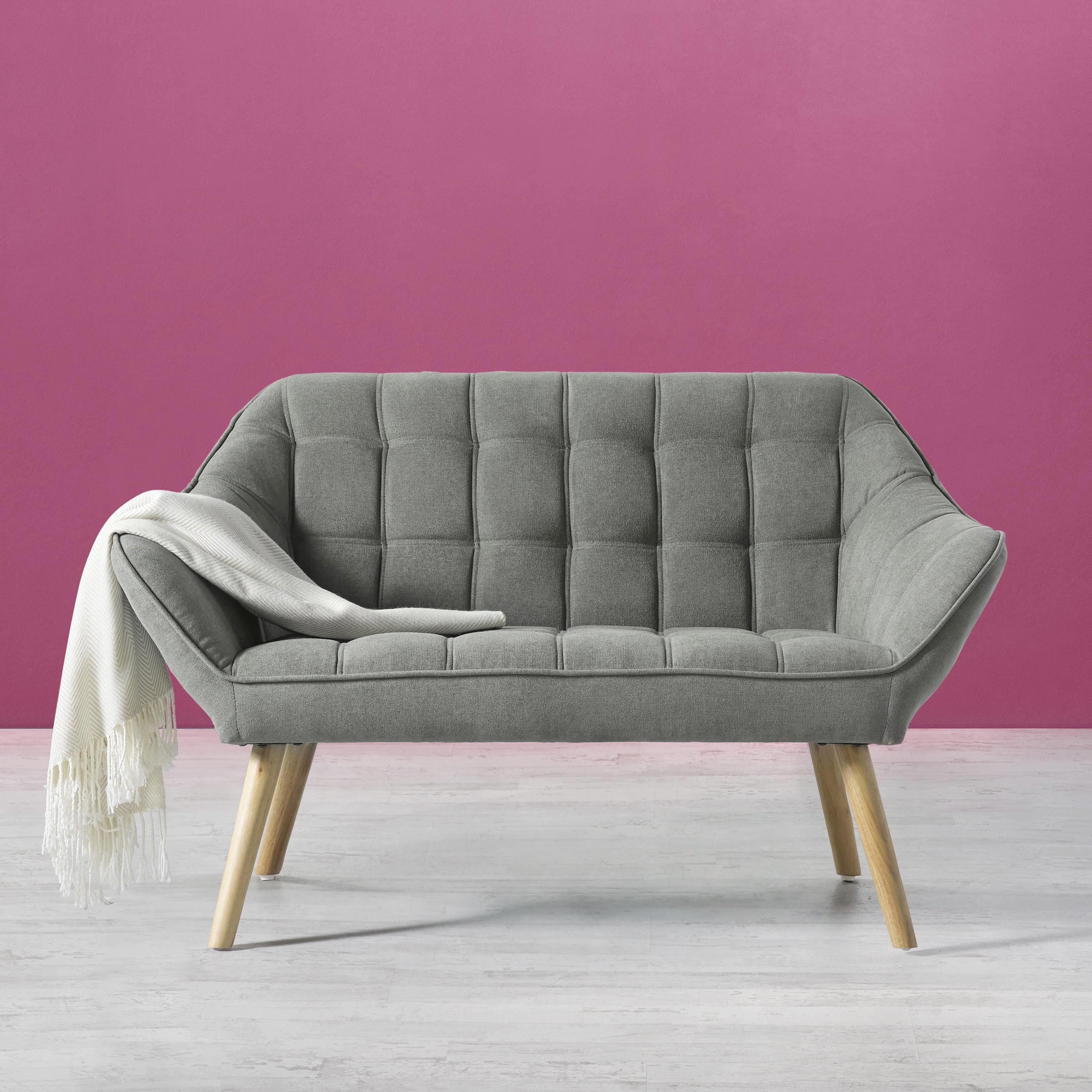 Sofa In Grau Monique In 2020 Zweisitzer Sofa Couch Grun