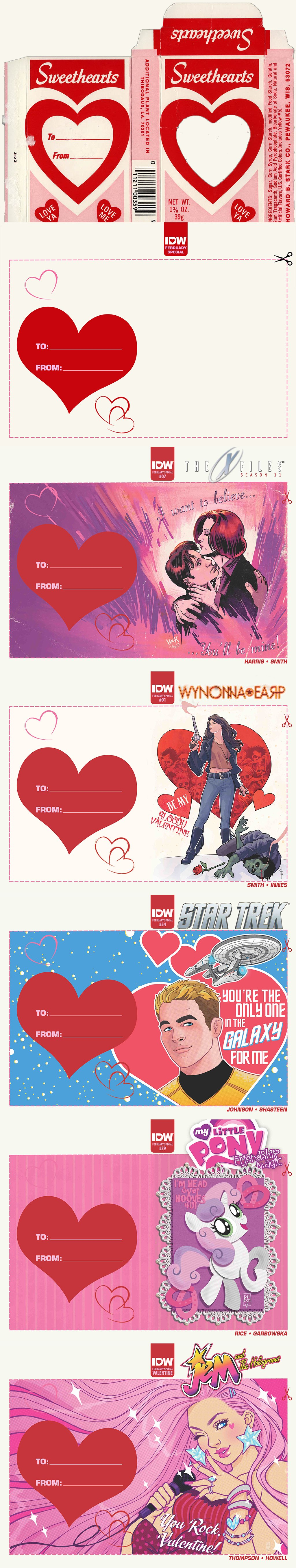 IDW: Valentines Day Themed Cover Template | I made this | Pinterest ...