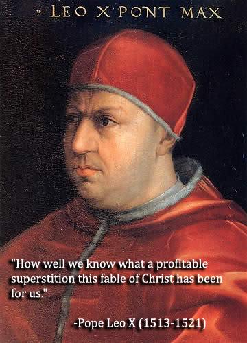 10 worst popes