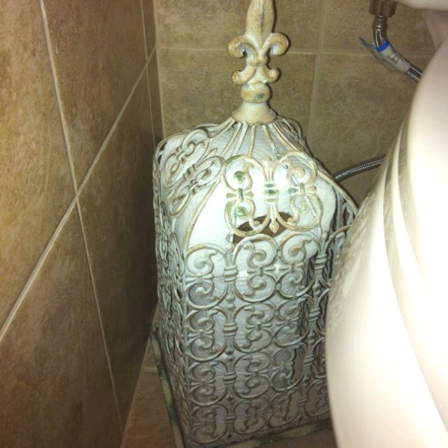 Toilet paper storage super easy and cute!!!