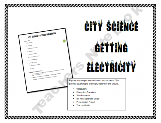 is for explore electricity with kids