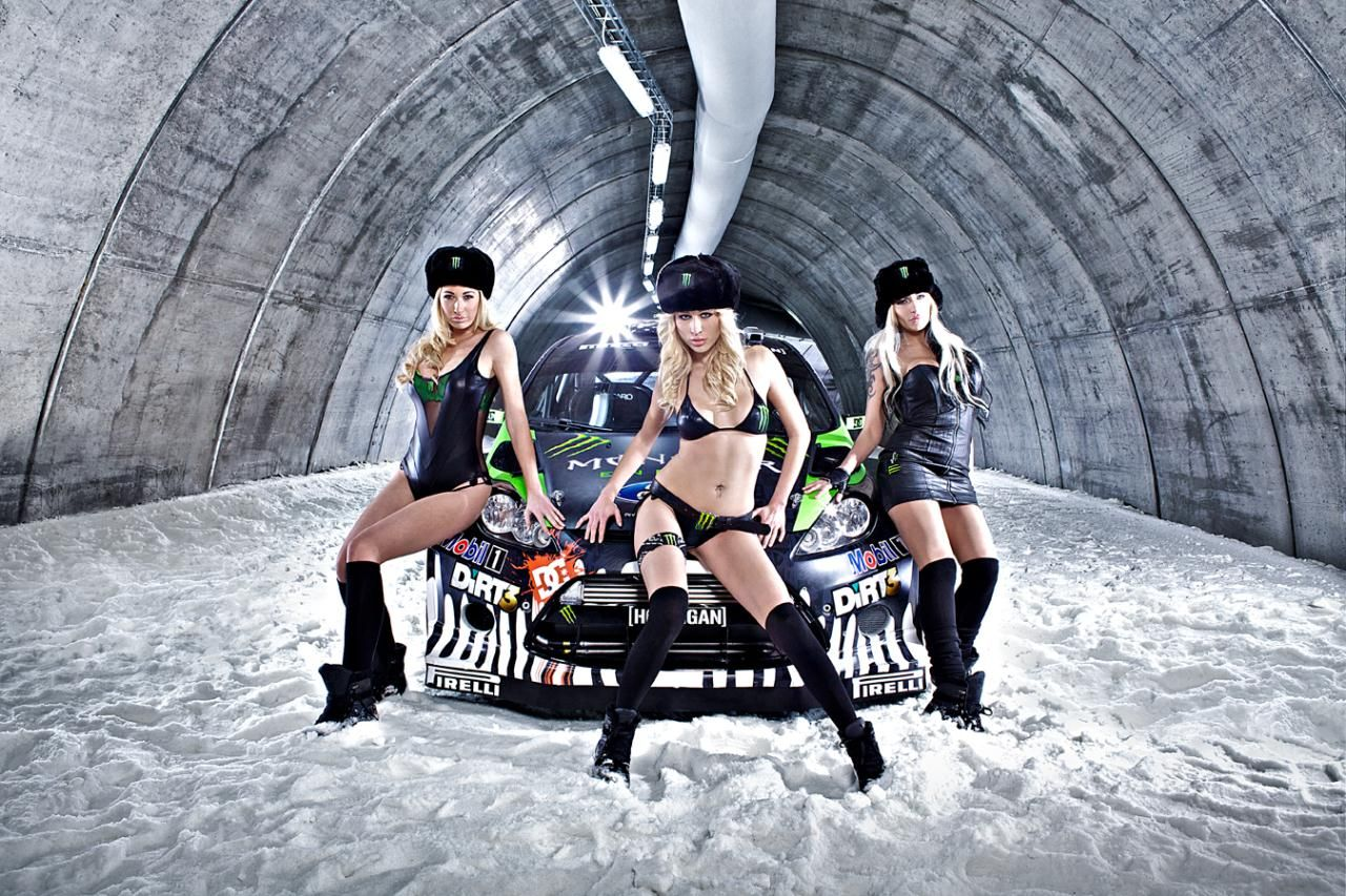 Ken Block Ken Block And His New Machine Monster Girls