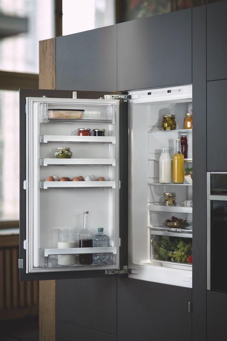 Mit einem vollen Kühlschrank von NEFF ist jeder Koch gut ...