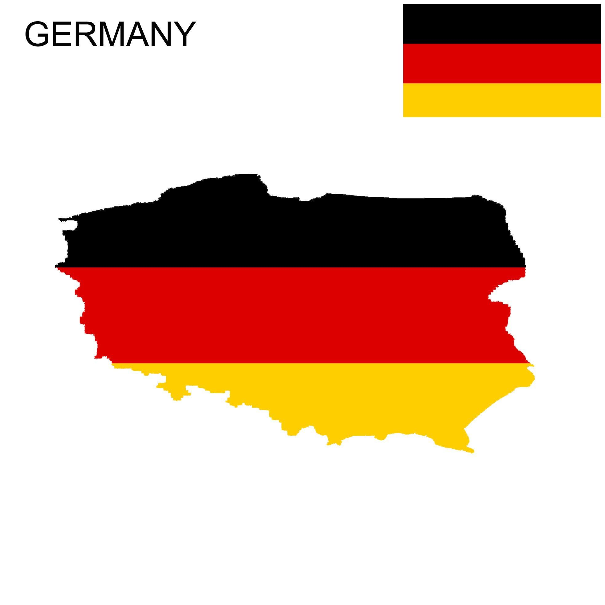 Germany Flag Map Germany Flag Flag Germany