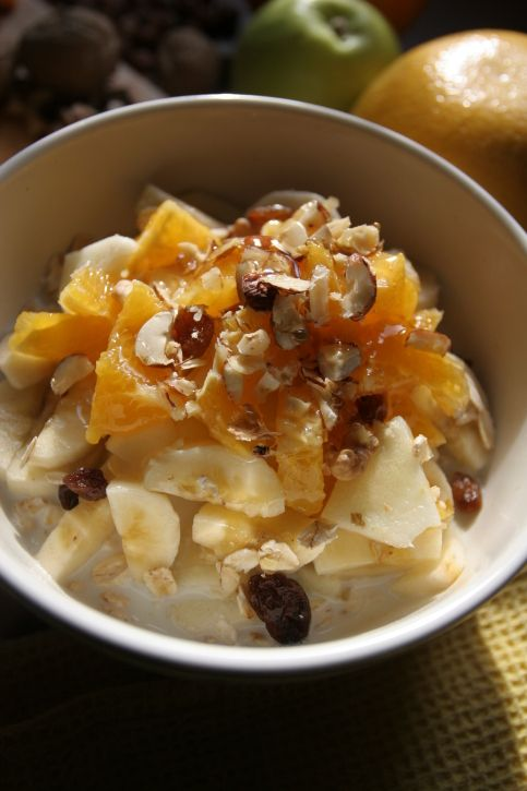 Muesli for Healthy Nutritious Breakfast
