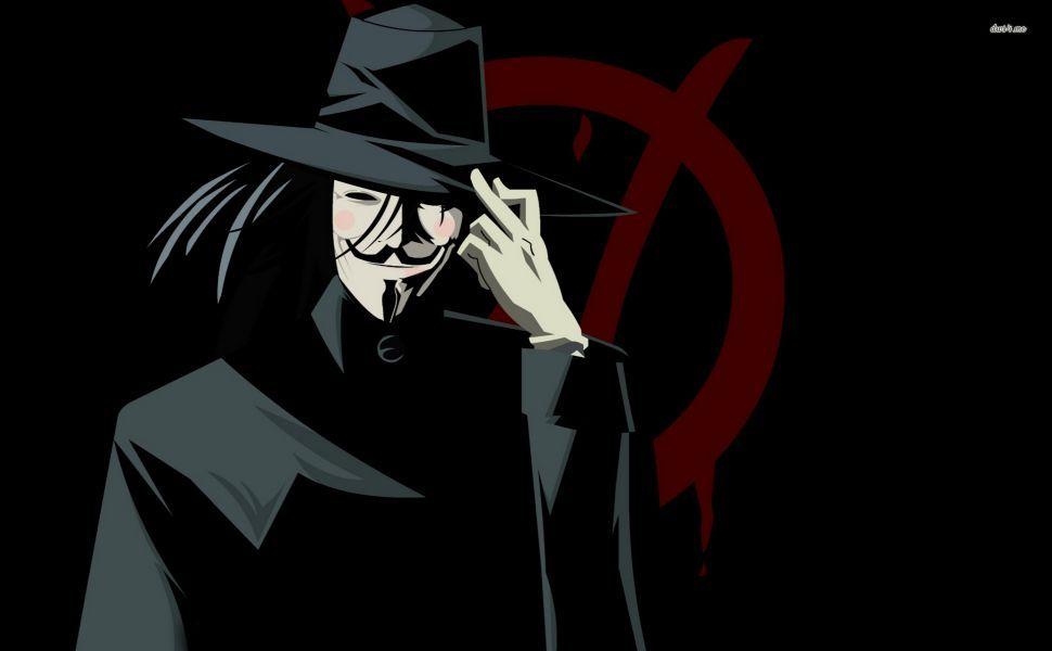 V For Vendetta HD Wallpaper