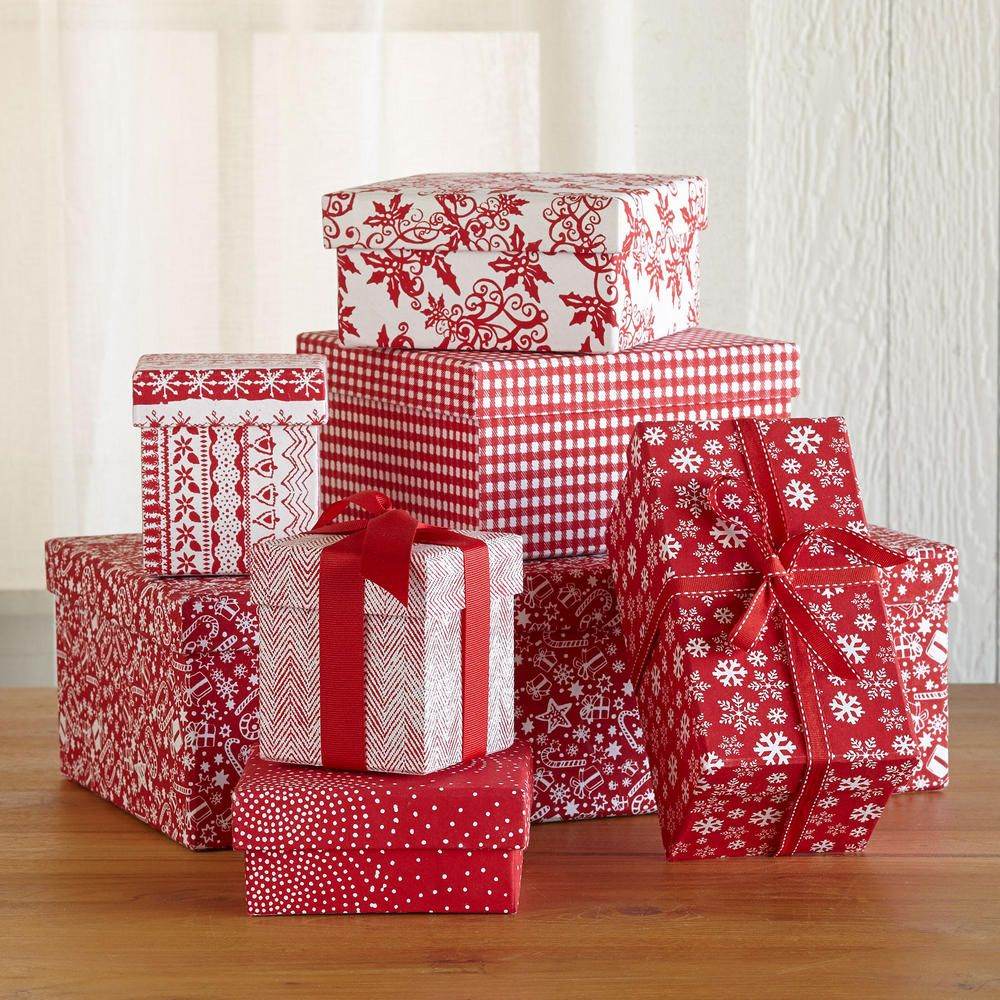 Sturdy Reusable Christmas Boxes Yes Please Xmas Gift Wrap Winter Christmas Gifts Gifts