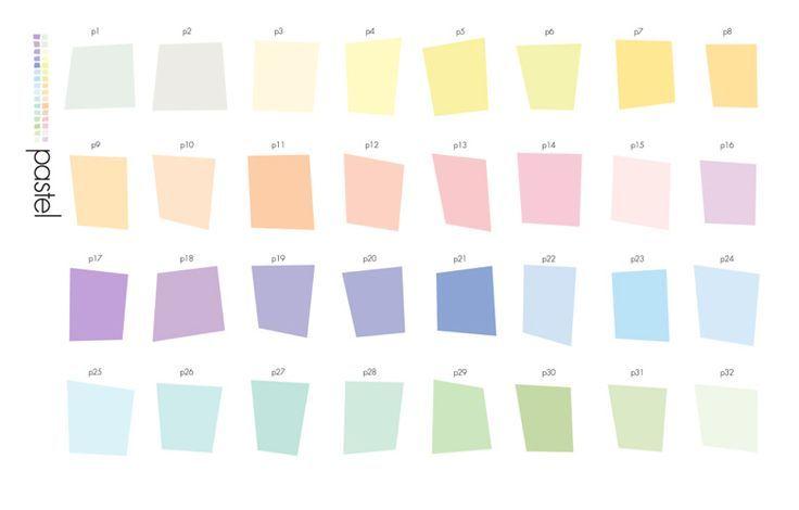 Crayon Color Palette Pastelkleuren Kleuren Groen Interieur