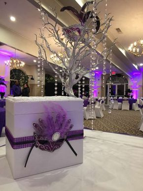 Masquerade Quinceaera Party Ideas Quince ideas Centerpieces and