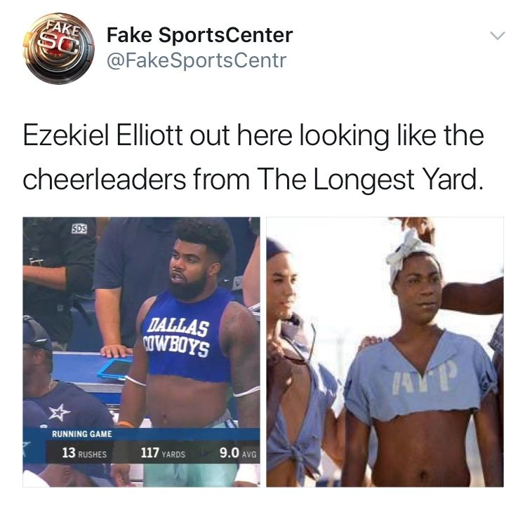 Pin By Caroline Apel On Meme Game Strong Cheerleading Ezekiel Elliott Game Strong